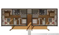 3D Apartments First Floor Floor Plan Norway Render PhotoRealistic