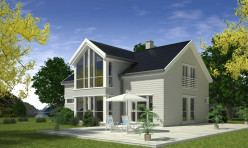 3D Exterior Photo Realistic Rendition Sweden