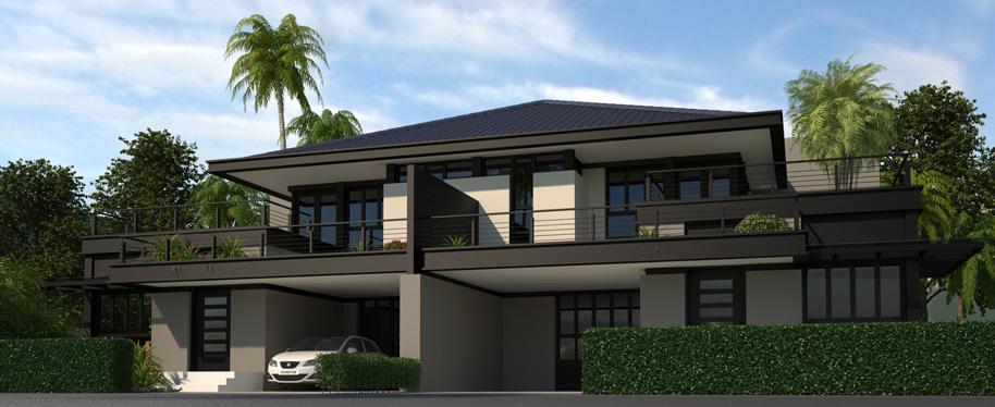 3D Exterior Visualization villa Coimbatore