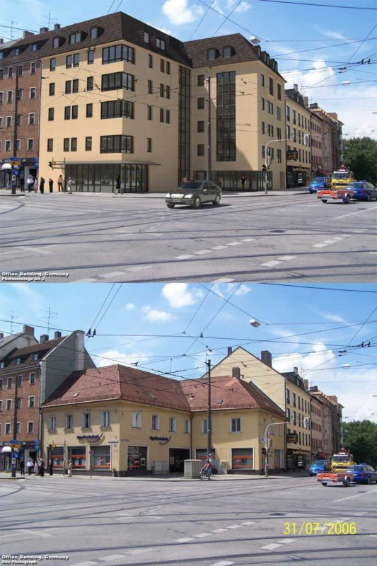 3D Photo Montage Residential Development Germany