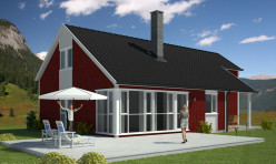 3D Photo Realistic Exterior Visualisation Sweden