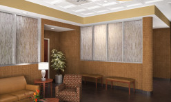 3D Photo Realistic Interior Visualization Hospital Lobby USA
