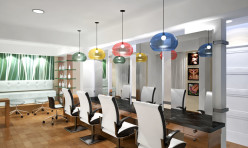 3D Realistic Interior Rendering Beauty Parlor - USA