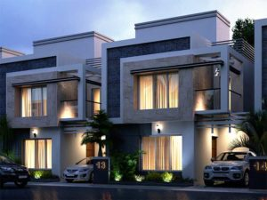3D Architectural Exterior Visualization
