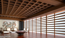 Meditation Center MD's Room 3D Interior Render India