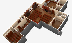 3D-Synagogue-Floor-Plan-USA-Render-PhotoRealistic
