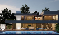 3D Architectural Exterior - Luxury Villa in Spain