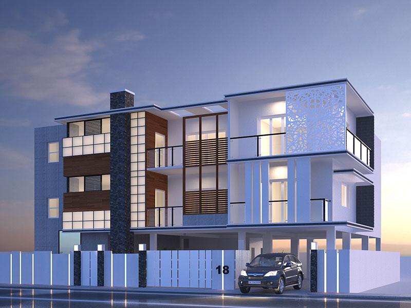 Apartment Exterior Design Ideas Astana Apartments Savion