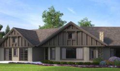 3D Photo Realistic Exterior Rendering Villa - Canada