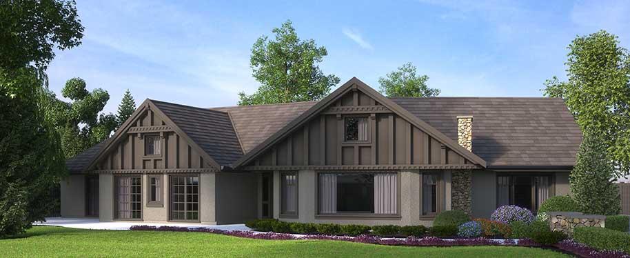 3D Exterior Rendering Villa Canada